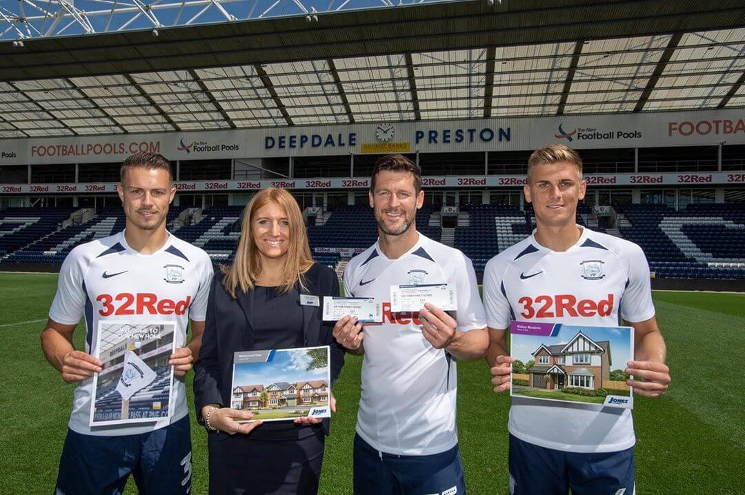 Buying a new Jones Home in Preston could net you an exciting bonus – tickets to see Preston North End FC play at their home ground, Deepdale.  #joneshomes #joneshomesuk #joneshome #incentive #prestonnorthend #property #newhome #newbuild #newbuildhome #home #newhouse