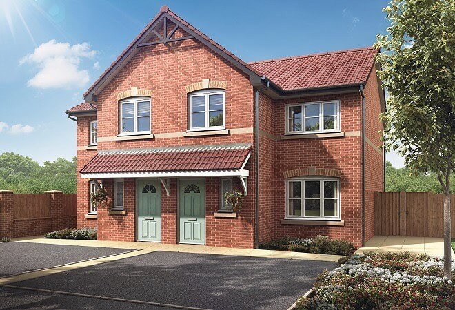 Home Of The Week: Plot 19, The Birch at Simpson Park, Harworth, a beautiful 3 bedroom semi detached house that's just been released.  The Birch can be the house you've always dreamed of, perfectly located in a semi-rural location with plenty to offer.  #joneshomes #joneshome #joneshomesuk #homeoftheweek #home #newhome #newhomes #newbuild #property #newbuildhome