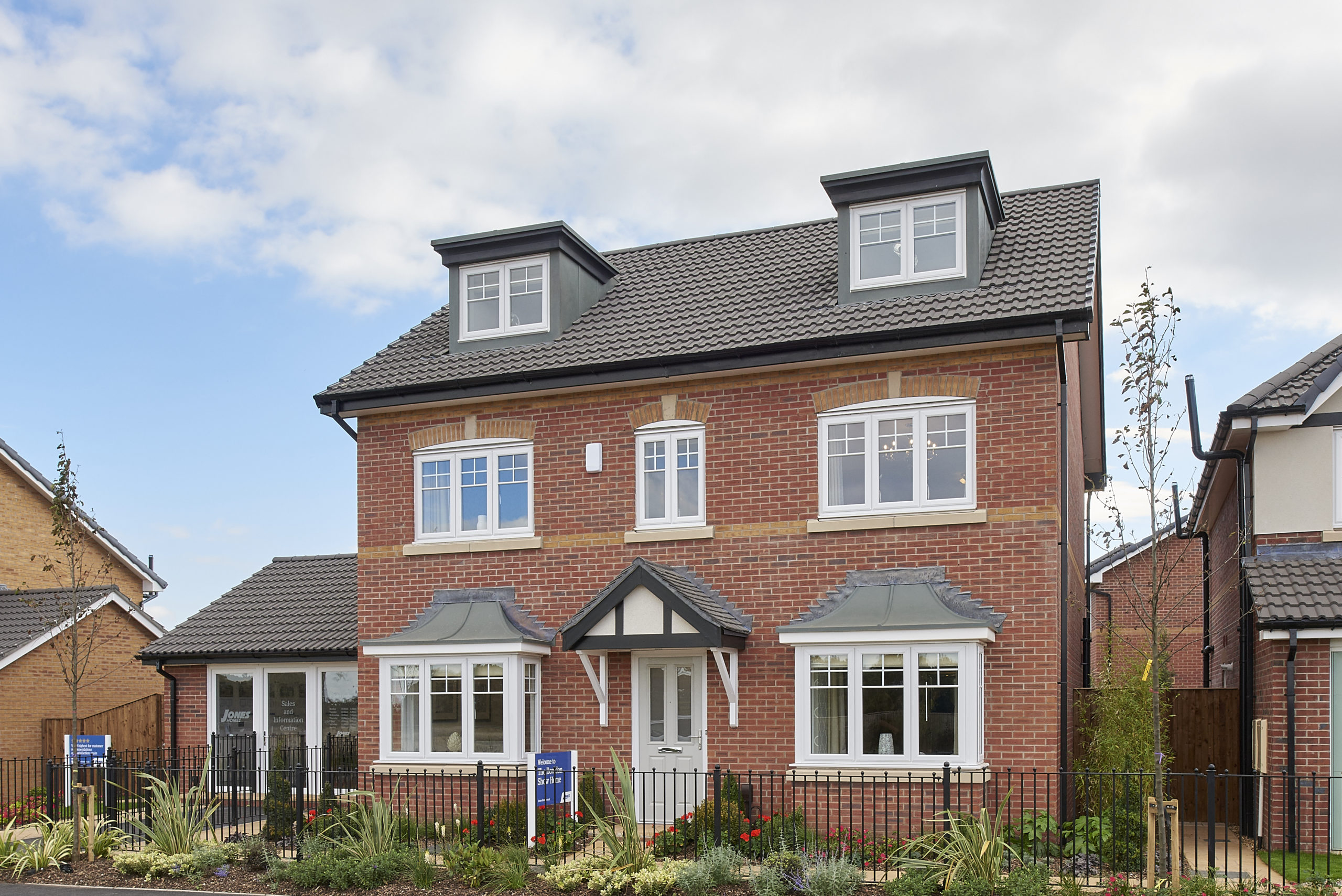 Flexible three-storey living for growing families at Worksop development