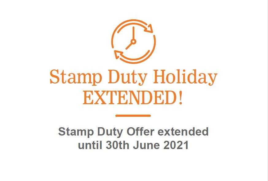 Stamp Duty holiday in England extended to the end of June 2021